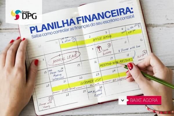 Planilha financeira